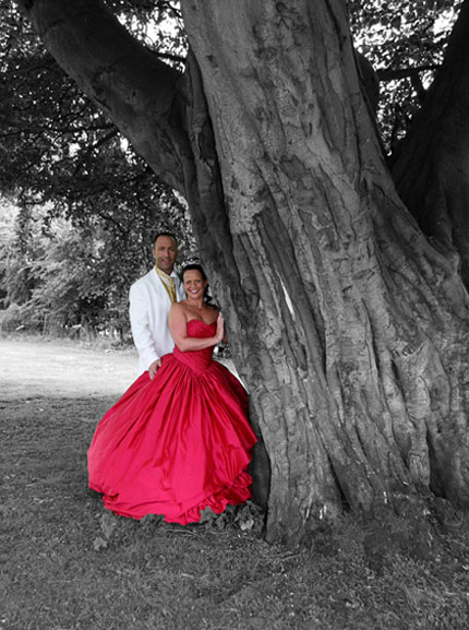 Paul taylor gretna wedding